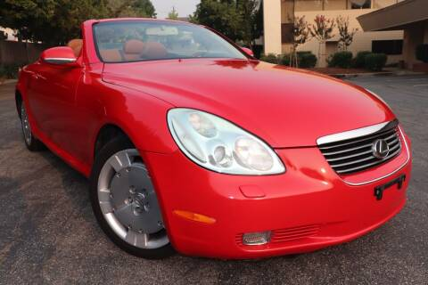2005 Lexus SC 430 for sale at California Auto Sales in Auburn CA