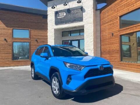 2020 Toyota RAV4 for sale at Hamilton Motors in Lehi UT