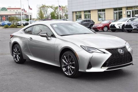 2021 Lexus RC 350 for sale at BOB ROHRMAN FORT WAYNE TOYOTA in Fort Wayne IN