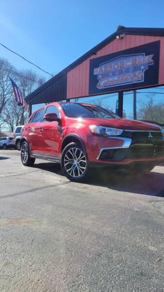 2017 Mitsubishi Outlander Sport for sale at Harborcreek Auto Gallery in Harborcreek PA