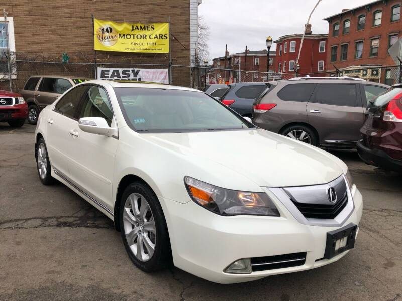 2010 Acura RL for sale at James Motor Cars in Hartford CT