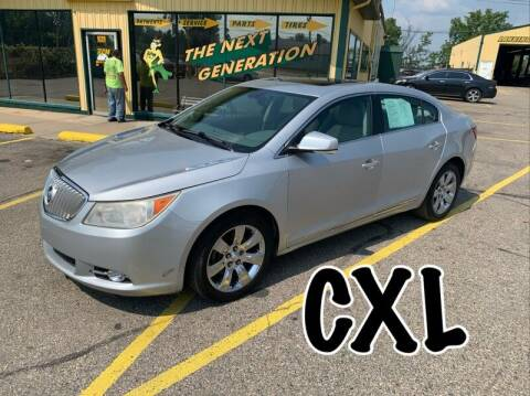 2010 Buick LaCrosse for sale at RPM AUTO SALES in Lansing MI