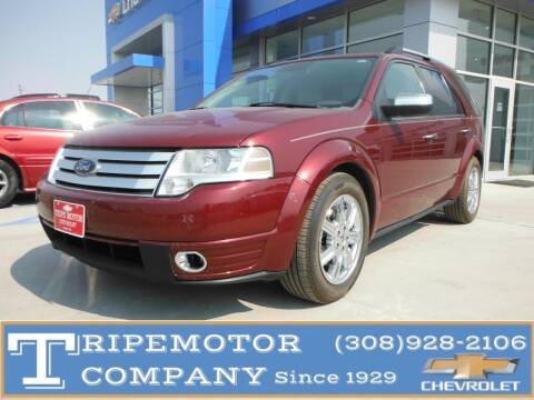 2008 Ford Taurus X for sale at Tripe Motor Company in Alma NE