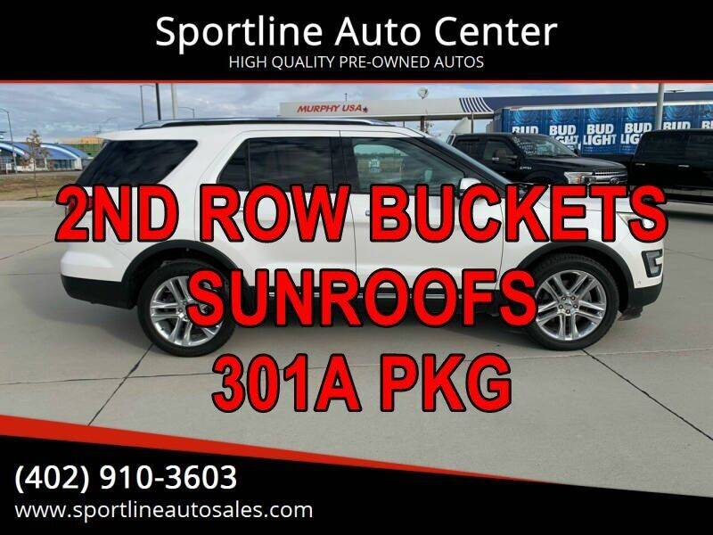 2017 Ford Explorer for sale at Sportline Auto Center in Columbus NE