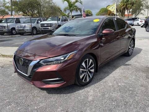 2020 Nissan Sentra for sale at EZ Own Car Sales of Miami in Miami FL