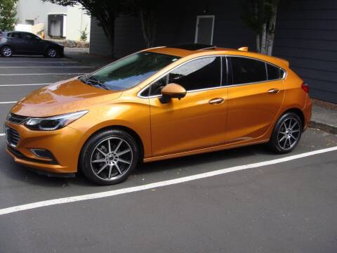 2017 Chevrolet Cruze for sale at Western Auto Brokers in Lynnwood WA