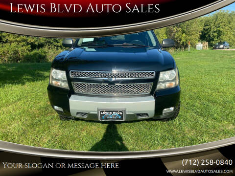 2008 Chevrolet Avalanche for sale at Lewis Blvd Auto Sales in Sioux City IA