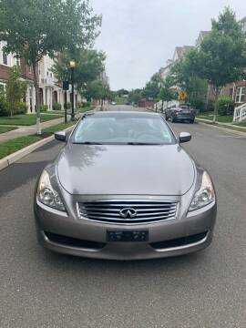 2009 Infiniti G37 Convertible for sale at Pak1 Trading LLC in South Hackensack NJ