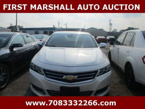 2014 Chevrolet Impala for sale at First Marshall Auto Auction in Harvey IL