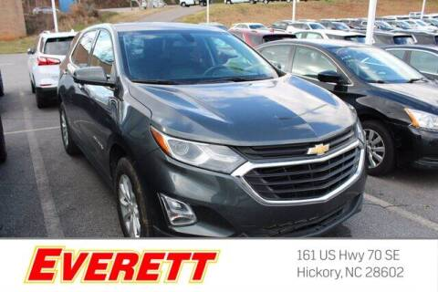 2018 Chevrolet Equinox for sale at Everett Chevrolet Buick GMC in Hickory NC