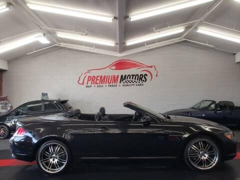 2006 BMW 6 Series for sale at Premium Motors in Villa Park IL