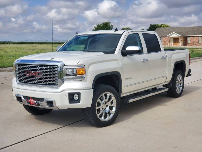 2014 GMC Sierra 1500 for sale at Chihuahua Auto Sales in Perryton TX