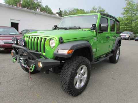 2019 Jeep Wrangler Unlimited for sale at Purcellville Motors in Purcellville VA