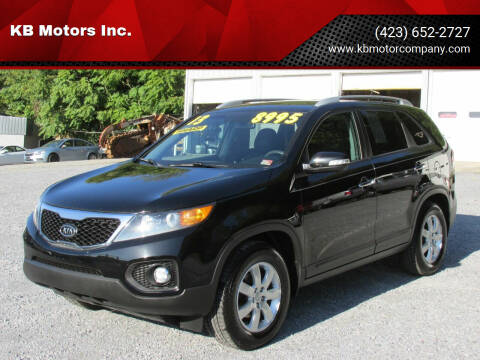 2013 Kia Sorento for sale at KB Motors Inc. in Bristol VA