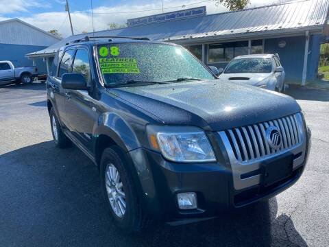 2008 Mercury Mariner for sale at HACKETT & SONS LLC in Nelson PA