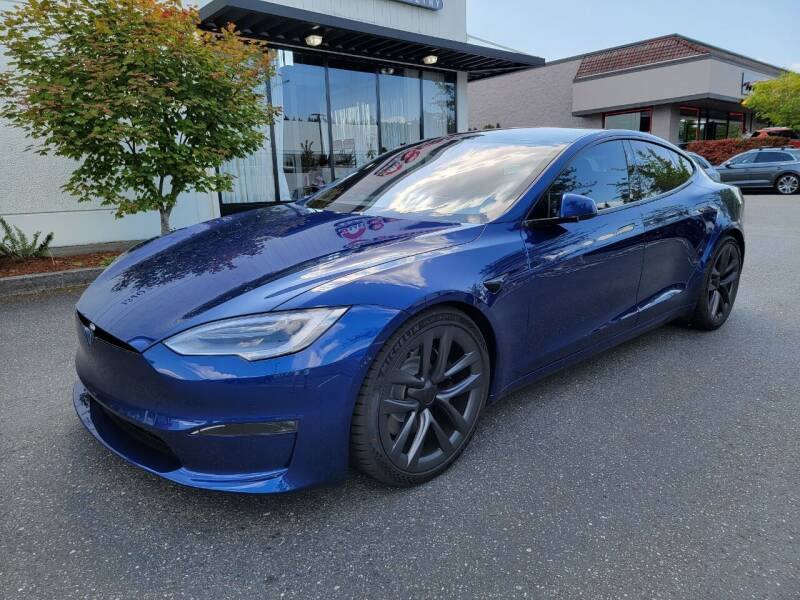 2021 Tesla Model S for sale at Painlessautos.com in Bellevue WA