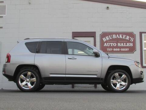 2014 Jeep Compass for sale at Brubakers Auto Sales in Myerstown PA