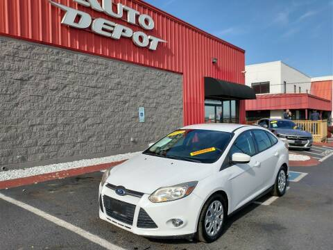 2012 Ford Focus for sale at Auto Depot - Madison in Madison TN