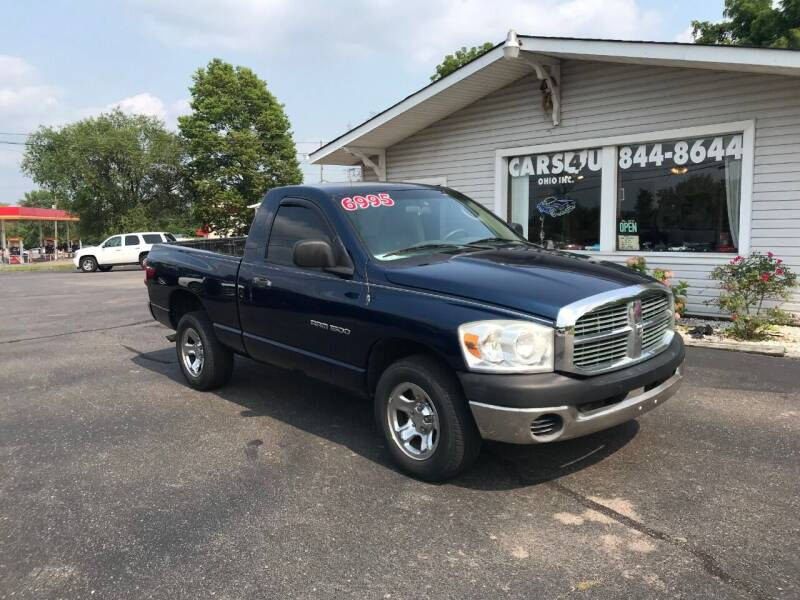 2007 Dodge Ram Pickup 1500 for sale at Cars 4 U in Liberty Township OH