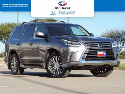 2018 Lexus LX 570 for sale at DAVID McDAVID HONDA OF IRVING in Irving TX