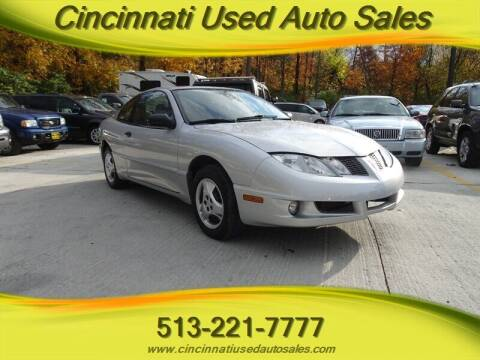 2004 Pontiac Sunfire for sale at Cincinnati Used Auto Sales in Cincinnati OH
