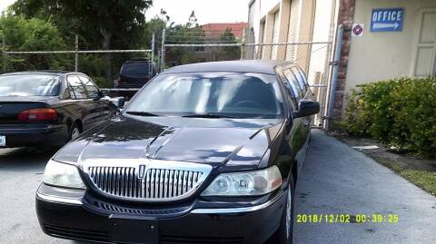 2007 Lincoln Town Car for sale at LAND & SEA BROKERS INC in Deerfield FL