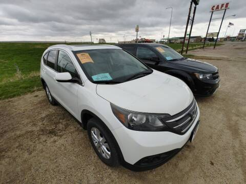 2013 Honda CR-V for sale at BERG AUTO MALL & TRUCKING INC in Beresford SD