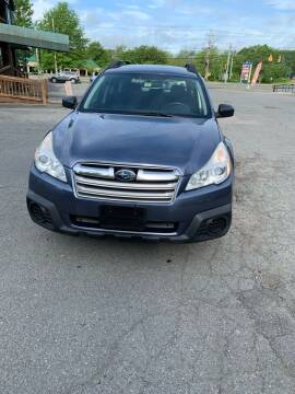 2013 Subaru Outback for sale at ALAN SCOTT AUTO REPAIR in Brattleboro VT