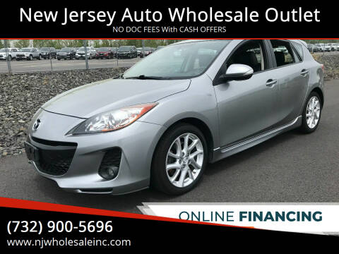 2012 Mazda MAZDA3 for sale at New Jersey Auto Wholesale Outlet in Union Beach NJ