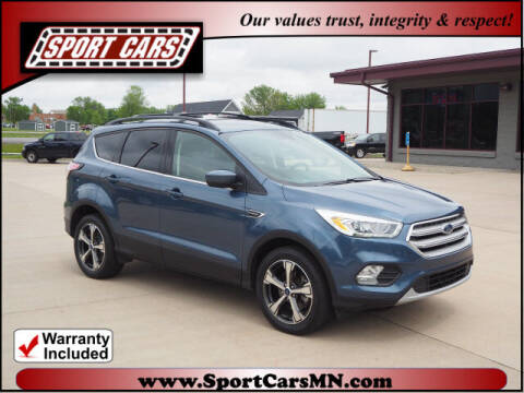 2018 Ford Escape for sale at SPORT CARS in Norwood MN