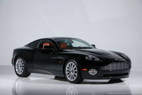 2003 Aston Martin V12 Vanquish for sale at Motorcar Classics in Farmingdale NY