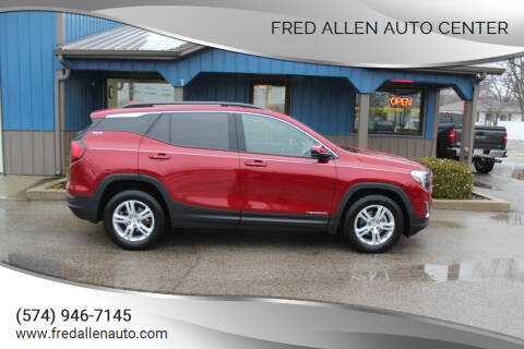 2018 GMC Terrain for sale at Fred Allen Auto Center in Winamac IN