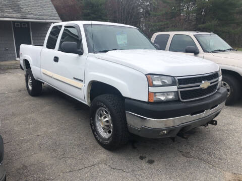 2004 Chevrolet Silverado 2500HD for sale at Oxford Auto Sales in North Oxford MA