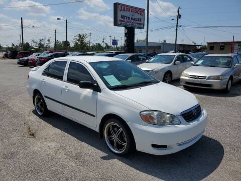 2007 Toyota Corolla for sale at Jamrock Auto Sales of Panama City in Panama City FL