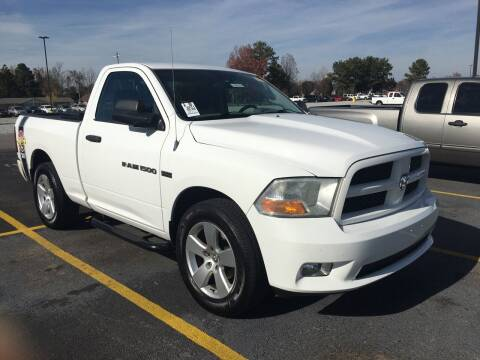 2011 RAM Ram Pickup 1500 for sale at D. C.  Autos in Huntsville AL