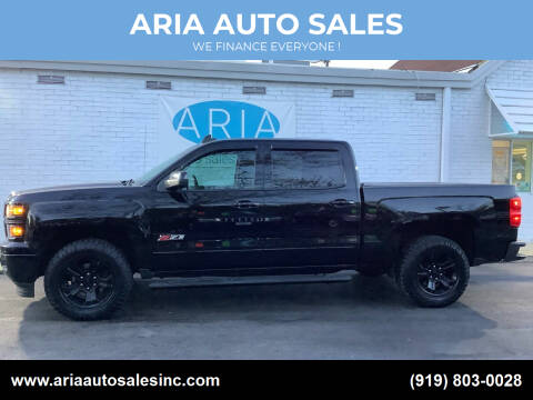 2015 Chevrolet Silverado 1500 for sale at ARIA  AUTO  SALES in Raleigh NC