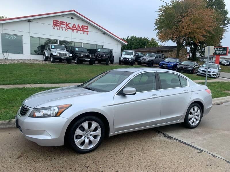 2009 Honda Accord for sale at Efkamp Auto Sales LLC in Des Moines IA