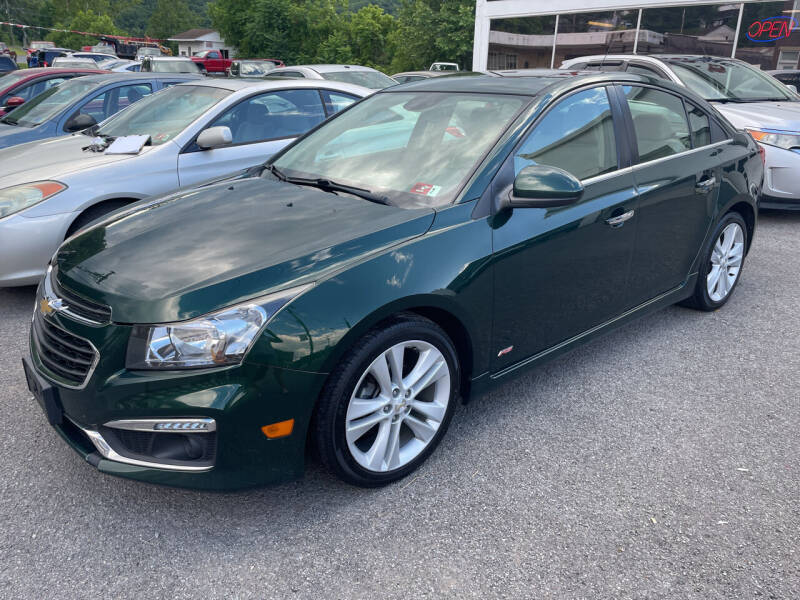 2015 Chevrolet Cruze for sale at Turner's Inc - Main Avenue Lot in Weston WV