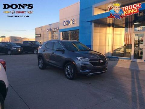 2021 Buick Encore GX for sale at DON'S CHEVY, BUICK-GMC & CADILLAC in Wauseon OH