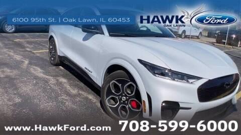 2021 Ford Mustang Mach-E for sale at Hawk Ford of Oak Lawn in Oak Lawn IL