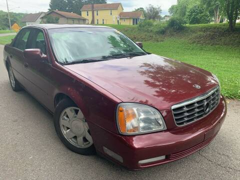2002 Cadillac DeVille for sale at Trocci's Auto Sales in West Pittsburg PA