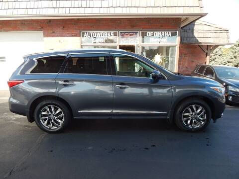 2013 Infiniti JX35 for sale at AUTOWORKS OF OMAHA INC in Omaha NE