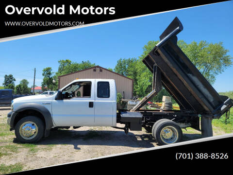 2007 Ford F-450 Super Duty for sale at Overvold Motors in Detroit Lakes MN