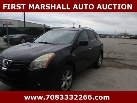 2010 Nissan Rogue for sale at First Marshall Auto Auction in Harvey IL