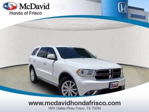 2015 Dodge Durango for sale at DAVID McDAVID HONDA OF IRVING in Irving TX