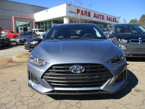 2019 Hyundai Veloster for sale at Pars Auto Sales Inc in Stone Mountain GA