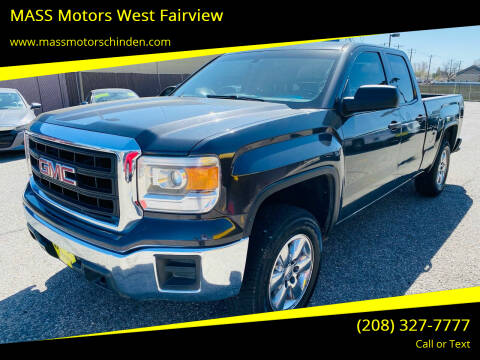 2014 GMC Sierra 1500 for sale at MASS Motors West Fairview in Boise ID