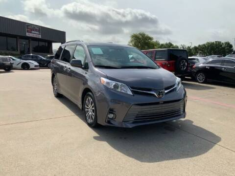 2019 Toyota Sienna for sale at KIAN MOTORS INC in Plano TX