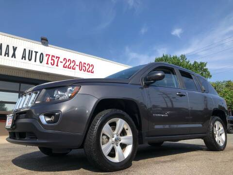 2015 Jeep Compass for sale at Trimax Auto Group in Norfolk VA