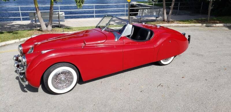 1954 Jaguar XK for sale in Pompano Beach, FL